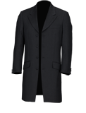 Black Mohair Prince Edward Suit