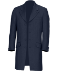 Navy Mohair Prince Edward Suit