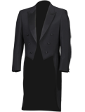 Black Evening Tailcoat