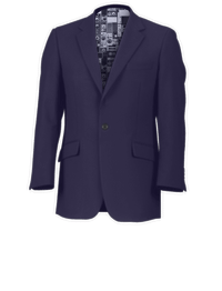 Ben Sherman Navy Short Jacket Suit