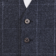 Blue Tweed Check - Available from 1st March 2017 Waistcoat