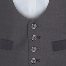 Ben Sherman Grey Horseshoe - Available From 4th May 2018 Waistcoat