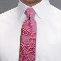 Pink Camden Paisley Tie - Available From 4th May 2018 Tie