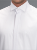 White Victorian Collar Shirt