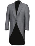 Mid Grey Tailcoat Jacket