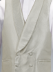 Ivory Double Breasted Waistcoat