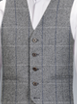 Grey Tweed Check - Available from 1st March 2017 Waistcoat