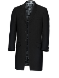 Ben Sherman Black Three Quarter - Available From 4th May 2018 Jacket