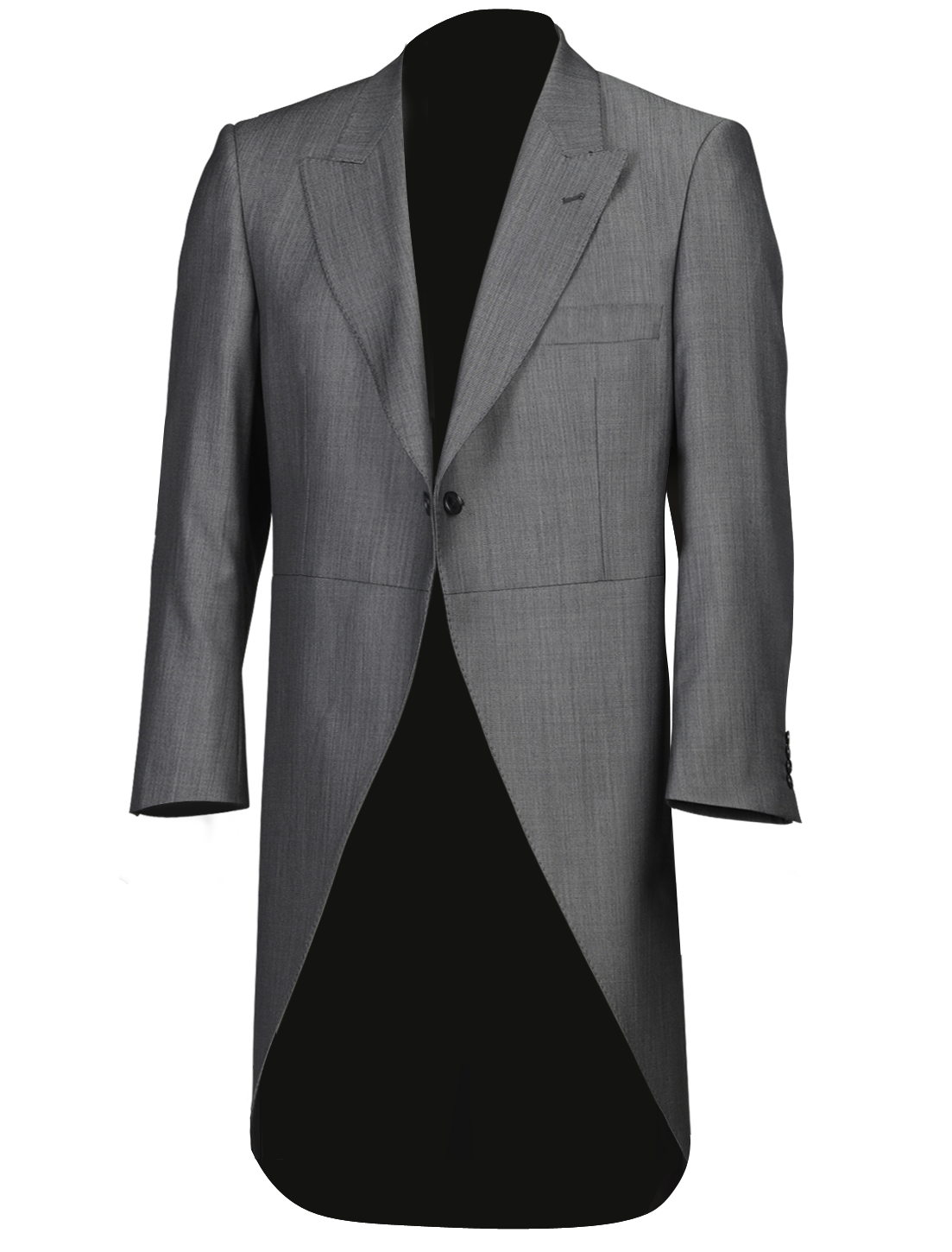 Silk Grey Tailcoat
