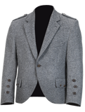 Light Grey Tweed Jacket