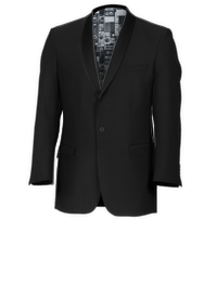 Ben Sherman Black Shawl Collar Dinner Suit