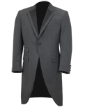 Jeff Banks Grey Tailcoat Suit