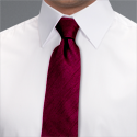 Ruby Shimmer Tie