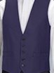 Ben Sherman Navy High Button Waistcoat
