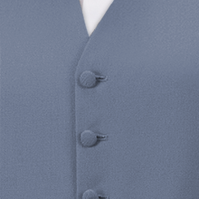 Pale Blue Single Breasted Waistcoat