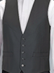 Ben Sherman Grey High Button Waistcoat